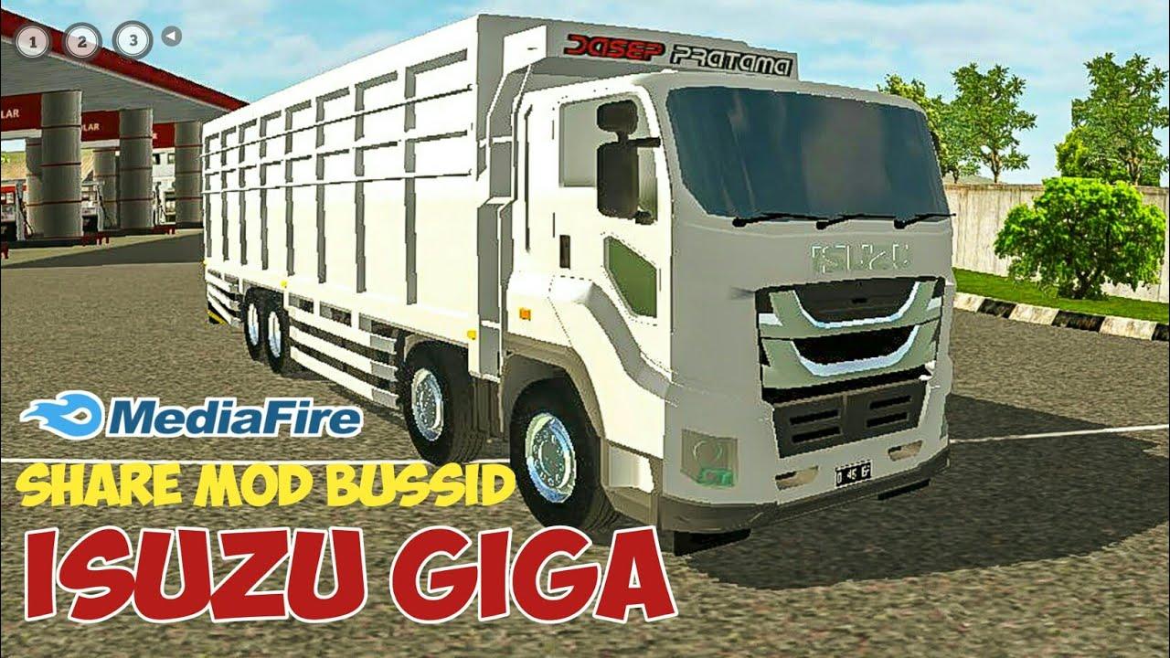 8100 Mod Bussid Mobil Isuzu HD