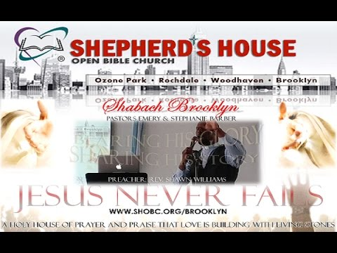 Assurance of Divine Significance, Rev. Shawn Williams, SHOBC-BK
