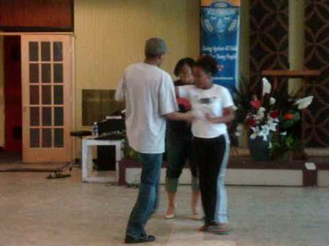 1 Step Above Trio Beginners Chicago Steppin Youtube