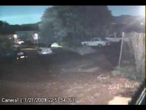 Meteor video from Limpopo Province - 21/11/09