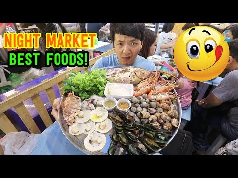 BEST Thai NIGHT MARKET Street Foods! - Rod Fai Train Market Tour