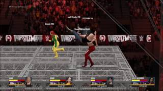 WWE 2K16 Divas Hell In A Cell