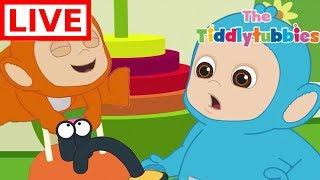 Teletubbies LIVE ★ NEW Tiddlytubbies 2D Series ★ Episodes 7-9 Tiddlytubbies Party★ Cartoon for Kids