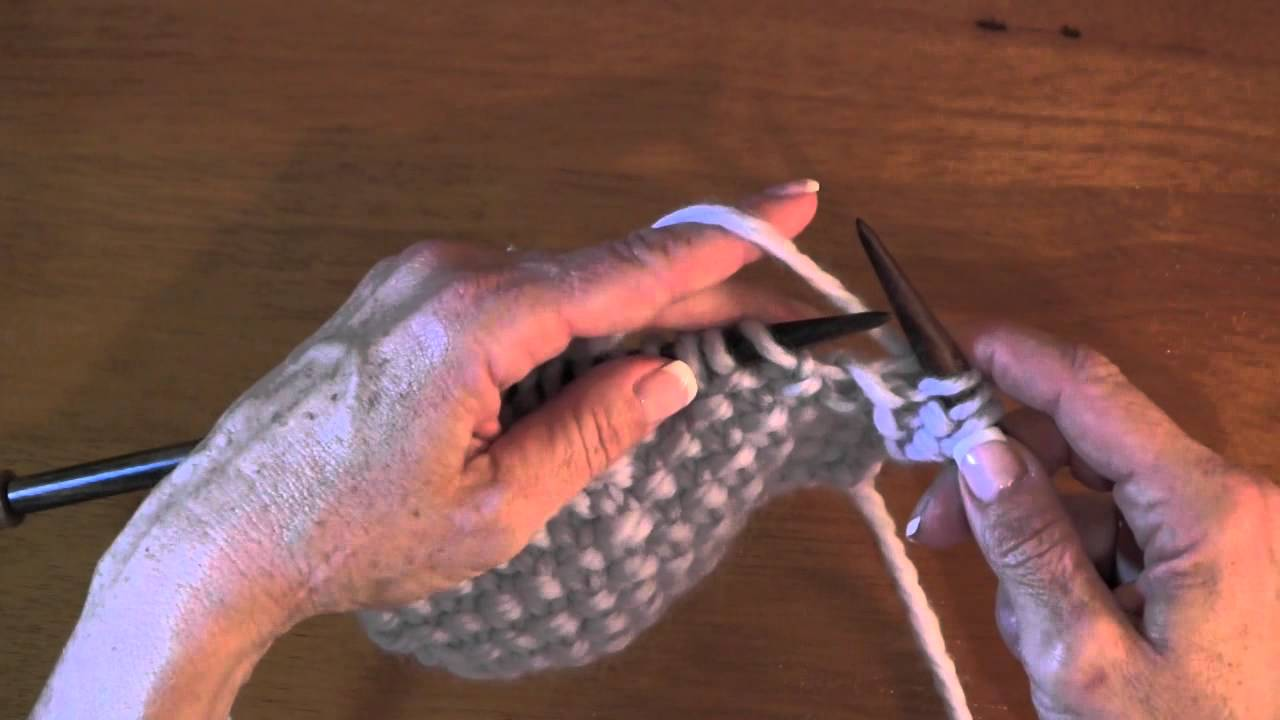Learning the Seed Stitch Pattern - YouTube