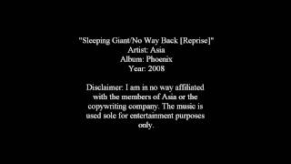 Sleeping Giant/No Way Back [Reprise] - Asia [Lyrics]