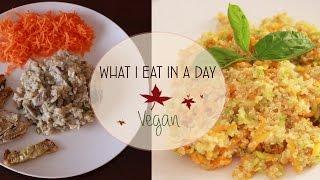 COSA MANGIO IN UN GIORNO #4 // VEGAN // What I eat in a day