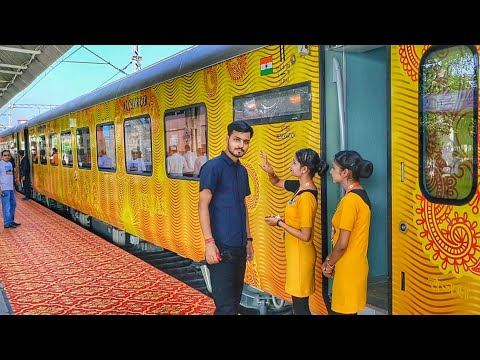 India 1st Private Train Lucknow Tejas Express full journey