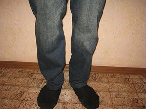 Как из джинсов сделать шорты видео. Джинсы превращаются. - YouTube