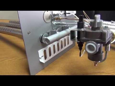 Печная автоматика САБК с элетромагнитным газовым клапаном ЭГК