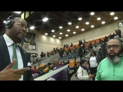 NSU MBB Postgame Coach Interview: Hampton