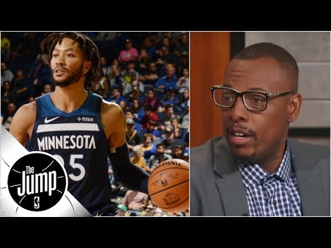 Paul Pierce: Derrick Rose is 'still a starter in this league' | The Jump | ESPN