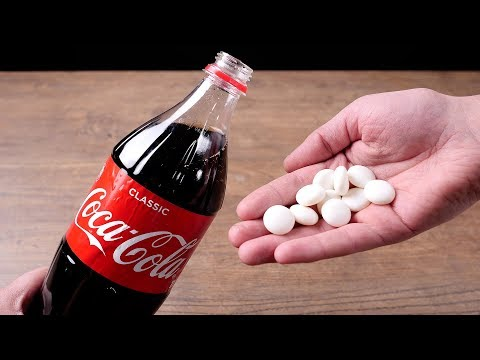 11 AWESOME COCA-COLA TRICKS