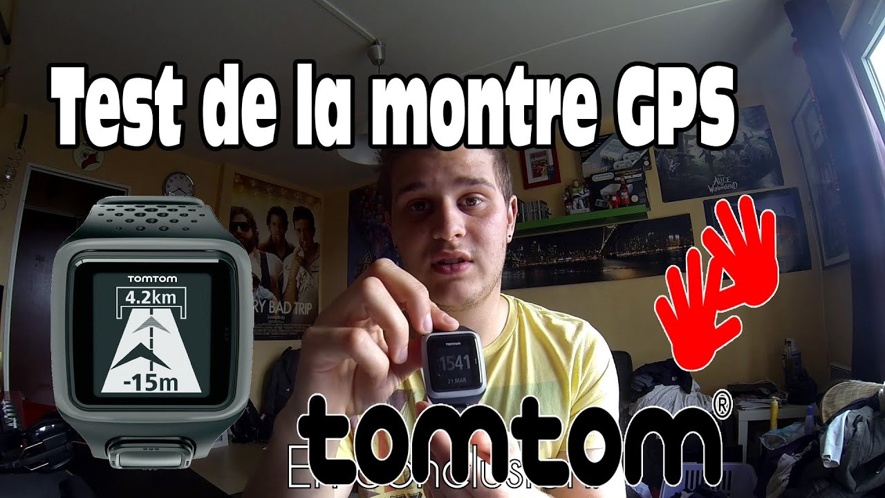 test de la montre gps tomtom runner youtube. Black Bedroom Furniture Sets. Home Design Ideas