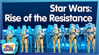 We Rode Star Wars: Rise of the Resistance --  Disney World's Most Anticipated New Attraction!