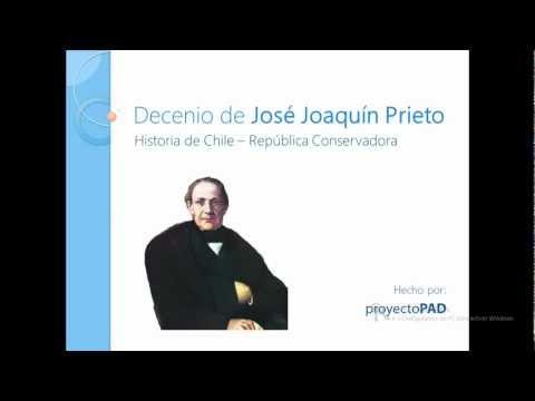 Decenio de José Joaquín Prieto