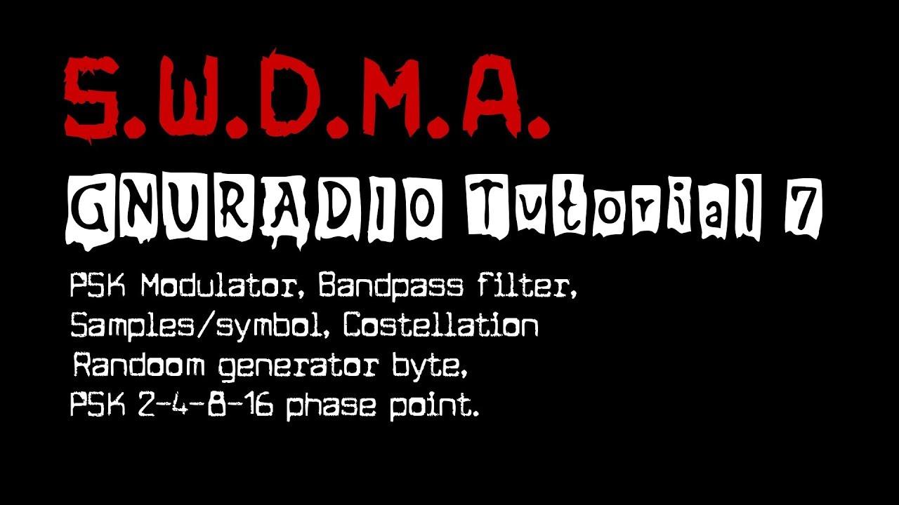 GNURADIO Tutorial 7 [ PSK Modulator ]