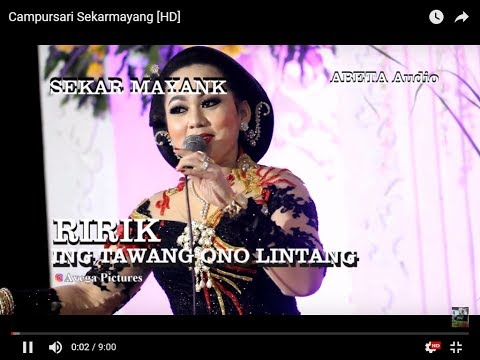YEN ING TAWANG ONO LINTANG - RIRIK - Campursari Sekarmayang [HD]