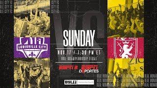 2019 USL Championship Final: Louisville City FC vs. Real Monarchs SLC