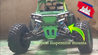 កែបូមឡាន Wltoys suspension mods 12428 1:12 ឡានបញ្ជា Rc crawler