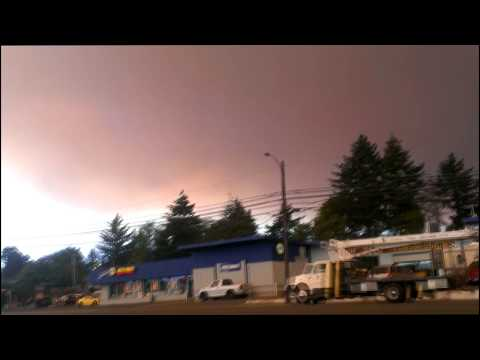 Forest Fire Near Brookings, Oregon - 8/18/2017