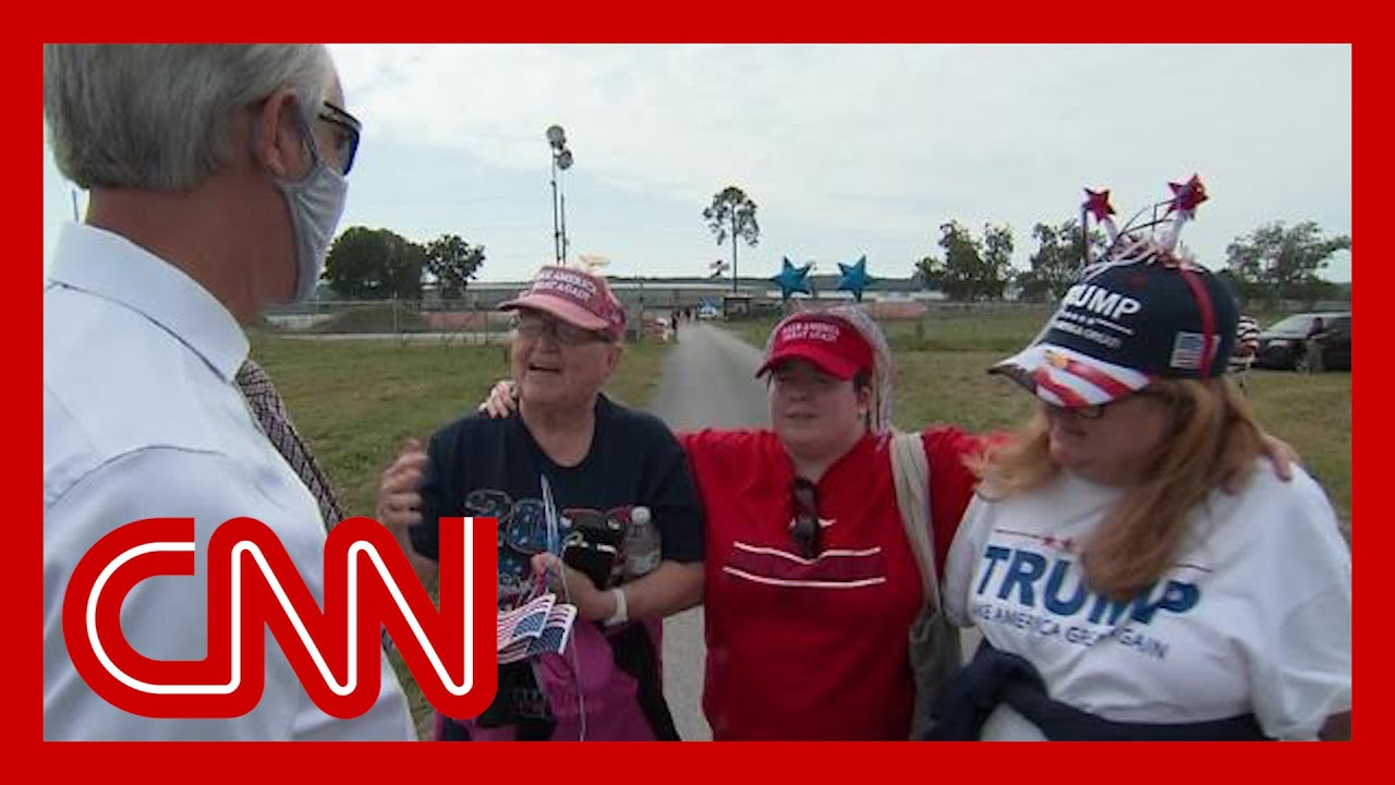 QAnon and Trump: Hear what his supporters think