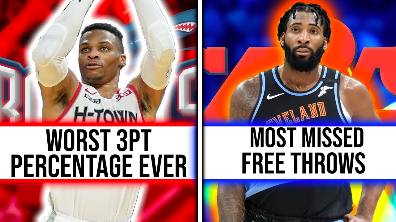 The Worst Nba Records Held By Current Day Players Youtube