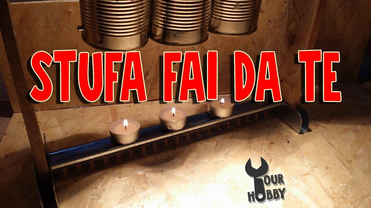 DIY STUFA FAI DA TE GRATIS senza elettricit  YouTube