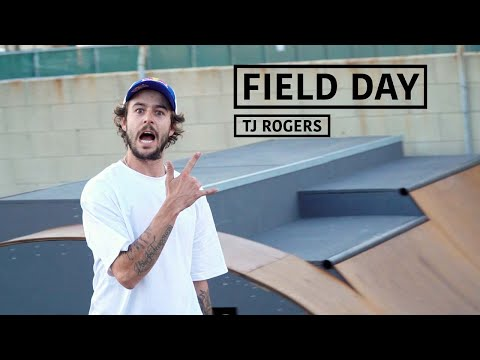 A Day With Pro Skateboarder TJ Rogers | FIELD DAY