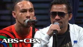 Pacquiao, Thurman face reporters after fight | 21 July 2019