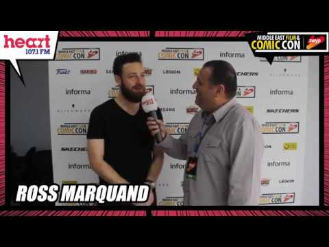 HEART FM: Exclusive Comic Con Interview With Ross Marquand