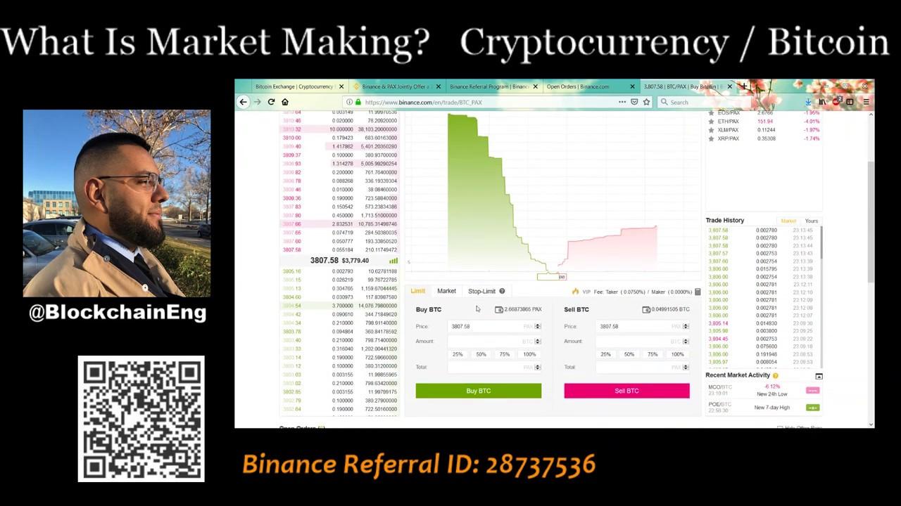 market maker bot binance