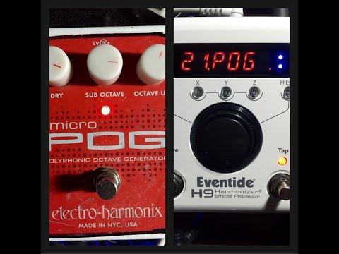 Electro Harmonix POG vs Eventide H9 (POG) Blind Test