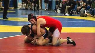 High School Wrestling Travis Barry(red) Vs Kent Island