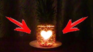 Лайфхак. Как сделать фонарик из ананаса в домашних условиях своими руками(Трафарет сердечка можно скачать тут: http://vk.com/doc102412949_270251134?hash=3aa724c20a1b86a6cc&dl=f789acb320ae7c7a64 Как сделать ..., 2014-02-12T05:23:24.000Z)