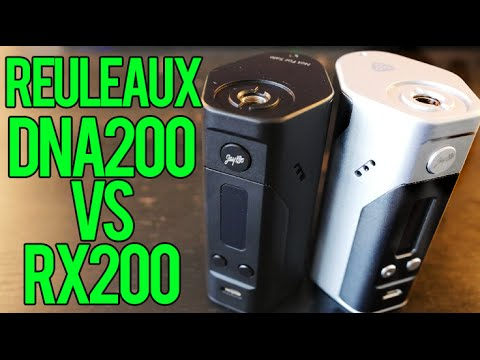 reuleaux dna200 vs rx200 wismec youtube
