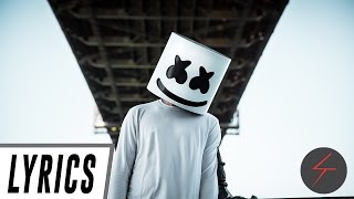Marshmello - Alone | LYRICS!