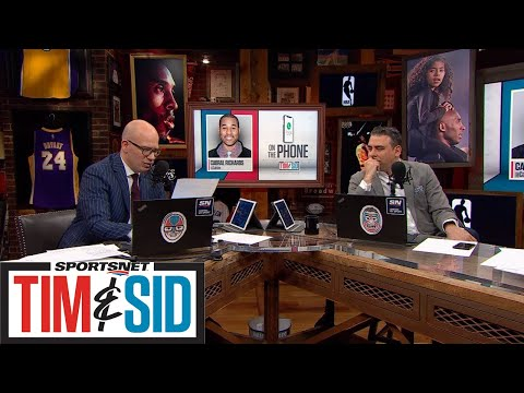 Cabbie Richards Shares His Favourite Memories Of Working With Kobe Bryant | Tim And Sid