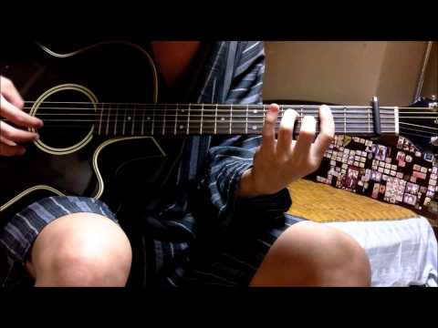 Suki-tte Ii na yo OP - Friendship guitar cover (solo)