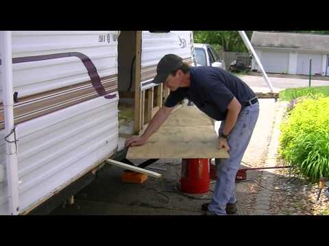 Camper Repair Joist And Floor Rot Youtube