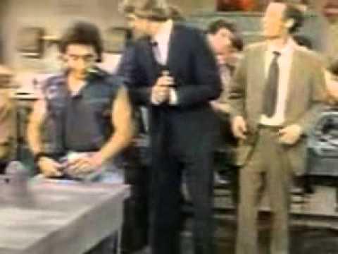 Ken Osmond Eddie Haskell in an episode of Happy Days