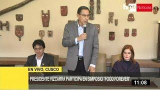 """Cusco: Vizcarra asiste a """"Food Forever Experience"""" por Día de la Biodiversidad"""