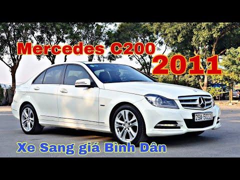 (ĐÃ BÁN) Mercedes C200 sx 2011, phom mới | động cơ 1.8 CGI tiết kiệm | 0966680444