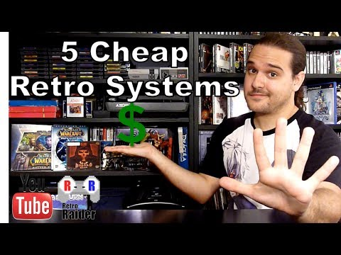 Top 5 Cheap Retro Systems to Collect For in 2017
