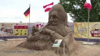 ОСТРОВ СКАЗОК - 12-й Международный фестиваль песчаных скульптур 2013 в Санкт-Петербурге