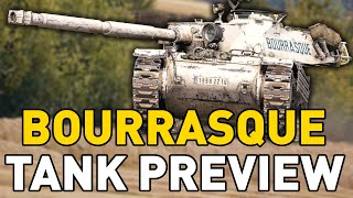Bourrasque Tank Preview - World of Tanks