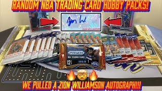 *SICK ZION AUTOGRAPH PULL!!! KABOOM!* RANDOM BASKETBALL HOBBY PACK OPENING!!! EP. 5