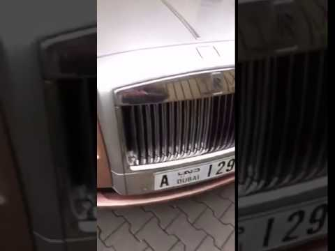 Rolls Royce Ghost Dubai / Amr Diab - El allem allah/