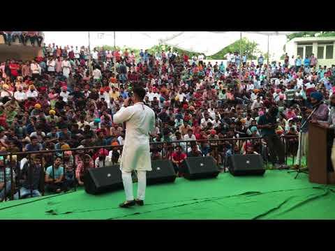 Kadir Thind Live | Punjabi University | Patiala