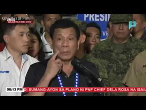 Duterte: CPP-NPA a 'terrorist group'