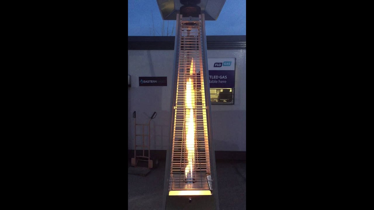 Pyramid Flame Patio Heater   Bbqgaslondon